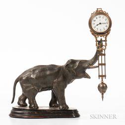 "Elephant ""Swinger"" Clock"