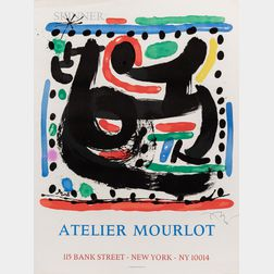 After Joan Miró (Spanish, 1893-1983)      Atelier Mourlot, Bank Street, New York