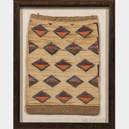 Nez Perce Flat Twined Storage Bag
