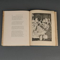 Pope, Alexander (1688-1744)   The Rape of the Lock  , Illustrated by Aubrey Beardsley.