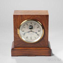 Mercer Electric Wind Chronometer Shelf Clock