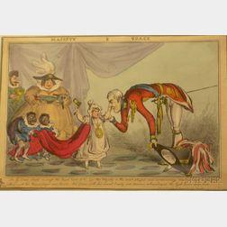 William Heath (British, 1795-1940)      Majesty & Grace