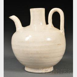 White Glazed Ewer