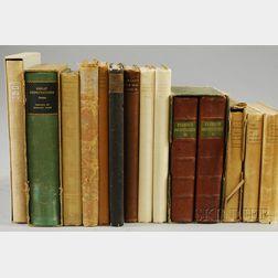 Fine Press, Approximately Twenty Volumes: