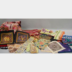 Group of Asian and Southeast Asian Textiles