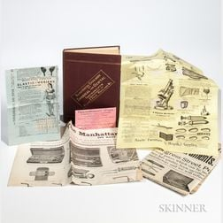 Surgical Instruments Catalog and Broadsides.