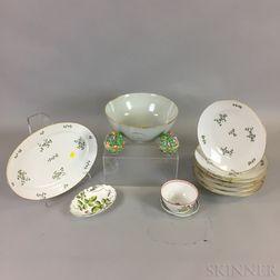 Thirteen Porcelain Items