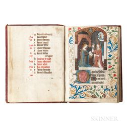 Book of Hours, Latin, Use of Paris, c. 1500, not after 1526.