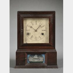 Rolling Verge Cottage Clock Attributed to Atkins, Whiting & Company