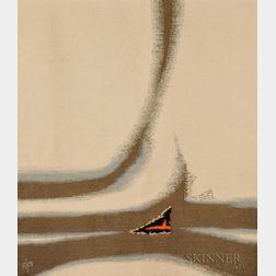 "Pierre Daquin (b. 1936) ""Appell Eolien"" Tapestry"