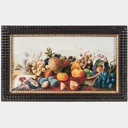 Joseph Hidley (New York, 1830-1872)      Basket of Fruit