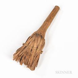 Miniature Maple Splint Broom