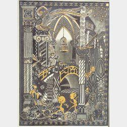 Wedgwood Fairyland Lustre Elfin Palace Plaque