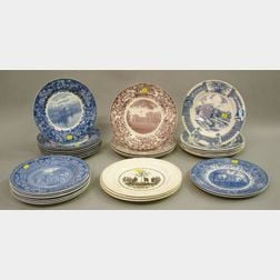 Twenty-nine Wedgwood Collector's Plates