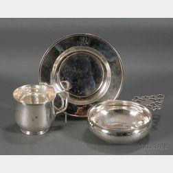 Arthur Stone Mug, Porringer, and Plate