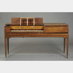 Federal Mahogany Inlaid Piano Forte