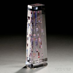 Jon Kuhn (American, b. 1949) Art Glass Sculpture