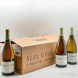 Gambal Bourgogne Blanc 2007, 12 bottles (oc)