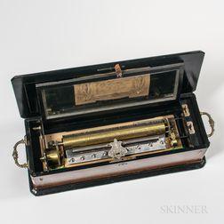 Ten-air Cylinder Musical Box