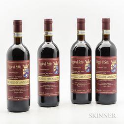 Poggio di Sotto Brunello di Montalcino 2007, 4 bottles