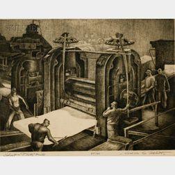 Jackson Lee Nesbitt (American, b. 1913)      Sheet and Plate Mill