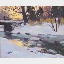 Charles Gordon Harris (American, 1891-1963)      Winter Afternoon