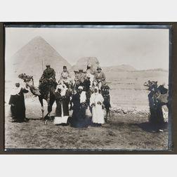 Photo Album, Norway, Pompeii, Capri, Bethlehem, and Egypt, c. 1920.