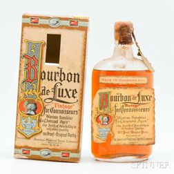 Bourbon de Luxe 18 Summers Old 1916, 1 pint bottle (oc)