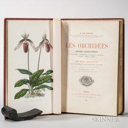 Puydt, Paul Émile de (1810-1891) Les Orchidees.