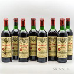 Petrus 1972, 8 bottles