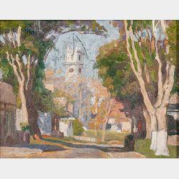 Harold Dunbar (American, 1882-1953)    Chatham
