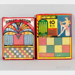 """Two Unused """"Jackpot Punch Games,"""""""