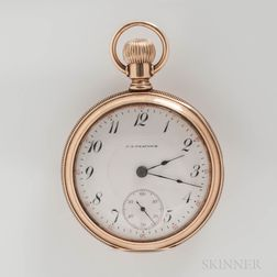Elgin National Watch Co. 14kt Gold Open-face Watch