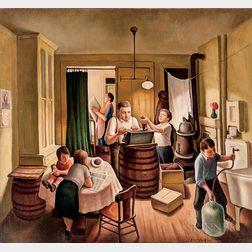 Daniel Ralph Celentano (American, 1902-1980)      Wine Making