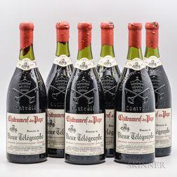 Vieux Telegraphe Chateauneuf du Pape 1985, 6 magnums