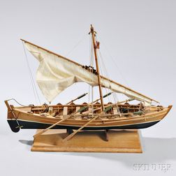 Wooden Whaleboat Model