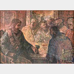 Michael Waterman (American, b. 1947)      The Last Supper