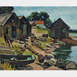 Mildred C. Jones (American, 1899-1991)      Pigeon Cove