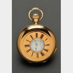 18kt Gold Quarter-Hour Repeating Demi-Hunter Pocket Watch, Patek Philippe
