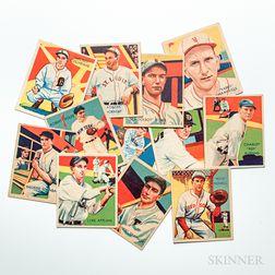 Twelve Diamond Stars Baseball Cards
