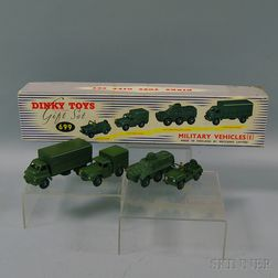 Meccano Dinky Toy Die-cast Metal Military Vehicles (I) Gift Set