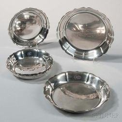 Eight Worden-Munnis Co. Sterling Silver Trophy Dishes