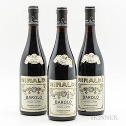 Rinaldi Barolo Brunate Le Coste 2001, 3 bottles
