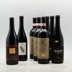 Mixed Italian Red Wines, 8 bottles
