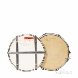 Signed Snare Drum and Practice Pad, c. 1970