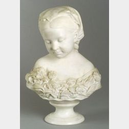 Thomas Ball (American, 1819-1911)  La Petite Pensee