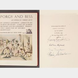 (Opera, Modern), Heyward, Du Bose (1885-1940) and Gershwin, George (1898-1937)