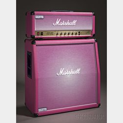 English Amplifier, Marshall Amplification pcl, Bletchley, 2010, Model Pinkburst JCM