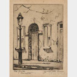 Elizabeth O'Neill Verner (American, 1883-1979)      Old Grille, Charleston