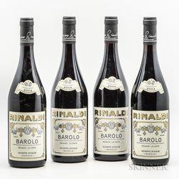 Rinaldi Barolo Brunate Le Coste 2004, 4 bottles